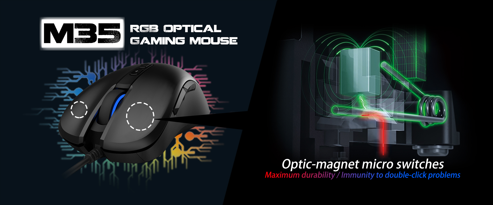 M35 RGB Optical Gaming Mouse